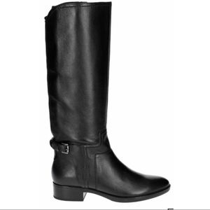 GEOX D FELICITY LEATHER LONG LEG BOOT D84G1B U1K